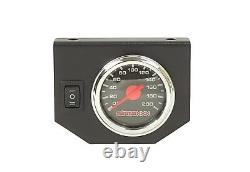 Air Helper Kit Black Gauge On Board Control Pour 2018-19 Chevy 3500 8 Lug Pu 2500