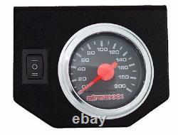 Air Tow Assist Kit Black Gauge Management & Tank For 2003-13 Dodge Ram 2500 3500