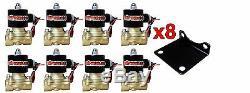 Airmaxxx 480 Chrome Air Compresseurs 1/2 Vannes 2500 Et 2600 Noir 7 Commutateur Réservoir