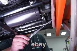 Arnott Chrome Harley Softail Air Ride Suspension Réglable Shocks Inférieur Fl
