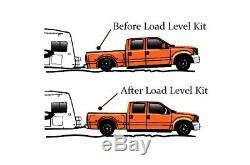 Assistance Au Remorquage Plus De Charge Sac À Suspension Pneumatique Et Dans La Cabine De Contrôle Pour 07-18 Chevy 1500 Pu