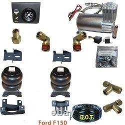 B Air Assistance Au Remorquage 2004-2014 Ford F150 Avec Dans La Cabine De Contrôle Du Compresseur Dc100