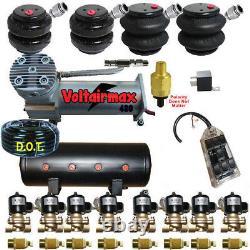 B Air Ride Suspension Compresseur Valves Réservoir 2500&2600 Sacs 7 Switchbox F07