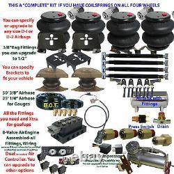B Air Suspension Dodge R1500 Complete Voir Descript Ci-dessous