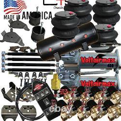 B Airbagit 1988-98 C15 Suspension D'air 1/2 Vannes 7-switch 8valves 8-tank