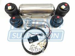 Complet 1971-1991 C20 C30 Pickup Truck Air Ride Suspension Abaissement System Kit