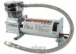 Compresseur D'air Chrome 400 Airmaxxx 3 Gallon Air Tank Drain 90 Sur 120 Off Switch
