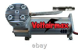 Compresseur D'air V Pour Système De Suspension De Sac D'air 480 Étain 200psi Max