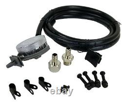 Compresseur De Suspension Air Bag 580 Chrome 180psi Off Pressure Switch & Filter