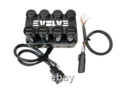 Evolve 4-corner Air Valve Solénoïde Manifold Arc 7 Boîte De Commutation 3/8 Hose Plug Play