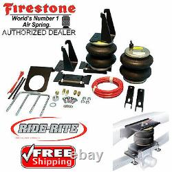 Firestone 2445 Ride Rite Arrière Air Bags Pour 07-20 Toyota Tundra Trd 2wd 4rm 4x4