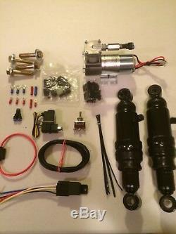 Honda Vtx 1300 1800 1100 Ombre Réglable Suspension Air Ride Kit Airmax Gauge