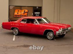Kit Complet De Suspension De Conduite Aérienne 1965-1970 Chevy Impala 1/4 Niveau 1 Bcfab