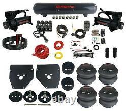 Kit Complet De Suspension De Piste D'air Pour 63-72 C10 3/8 Sacs Manifold Brackets & Tank