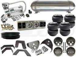 Kit Complet De Suspension Pneumatique 1988-1998 Gm Chevy C/k Silverado Niveau 1 1/4