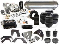 Kit Complet De Suspension Pneumatique 1999-2006 Chevrolet Silverado Level 3 3/8