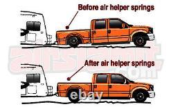 Kit D'aide À L'air Pas De Boulon De Forage Sur 4 Levé 2011-17 Chevy Gmc 2500/3500 Niveau De Charge