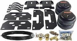 Kit De Niveau De Charge D'assistance De Remorquage D'air Pour 2014-18 Dodge Ram 3500 Camion Aucune Installation De Perceuse