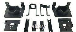 Kit De Remorquage Air Suspension Kit Blanc À Bord De Contrôle Pour 2011-16 Ford F250 F350 2wd