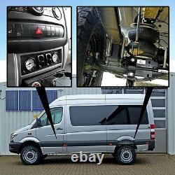 Luftfederung F. MB Sprinter Comfort-c-kit Allrad 4x4 W906 Ab 2006 Hinterachse