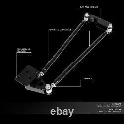Pour 55-59 Chevy Pickup Camion Coilover Arrière Parallel 4-link Air Suspension Kit