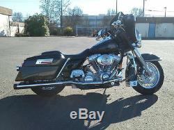 Réglable Abaisser Air Ride Harley Davidson Touring Suspension Chocs Kit