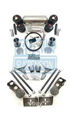 S'adapte 1955-1970 Ford Fairlane Car Air Ride Suspension Abaissement Kit Système