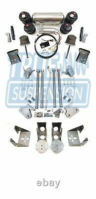 S'adapte 1965-1979 Ford F100 F150 Pickup Air Ride Suspension Abaissant Kit Hd
