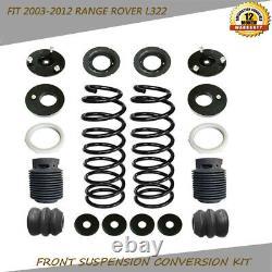 Sac De Suspension D'air Pour Bobine Kit De Conversion De Ressort Fit 2003-2012 Range Rover L322