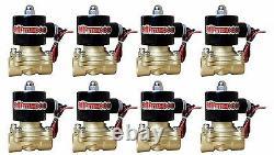 Suspension Pneumatique 4 Link 400 Compresseurs Sacs 1/2 Valves Clear 9 Pour 1973-87 C10