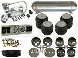 Suspension Pneumatique Kit 1965-1972 Mercedes W108 1/4 Système De Coussins Gonflables Analog Bcfab