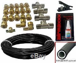 Suspension Pneumatique Kit Pour 1963-1972 C10 3/8 Vannes Blk 7 Commutateur 580 Réservoir Sacs