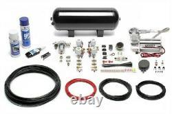 Ta Technix Air-ride Suspension Air Incl. Compresseur-kit Pour Bmw Série 3er E46