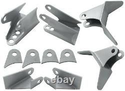 Triangulated 4 Link Kit Universal Weld On Car Truck 1.25 Dom Tube Lh Et Rh End