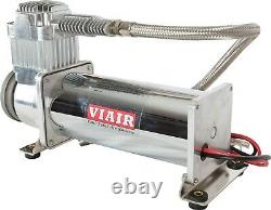 Viair 444c Truck Mount Air Compressor Kit 200 Psi Pressure Switch & Relay, 12v